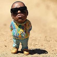 Légende Ornements commémoratifs en résine,Rap Musique Star Résine Sculptures Collectionner,Notorious B.I.G et 2Pac Tupac Statue de Figurines Souvenirs,Meilleur Cadeau pour Les Fans de Hip-hop Amis
