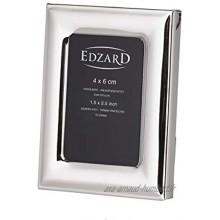 Edzard Cadre Photo Adria pour Photo 4 x 6 cm argenté Noble résistant à la ternissure