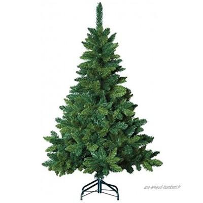 FEERIC LIGHTS & CHRISTMAS Sapin de Noël Artificiel Blooming Vert Hauteur 1m80-622 Branches Qualité