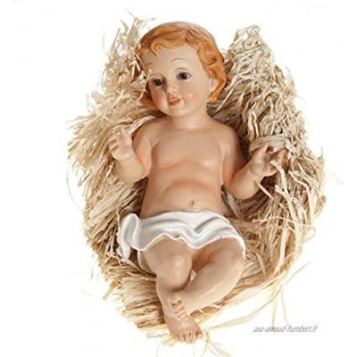 Ferrari & Arrighetti Figurine de l'Enfant Jésus de 20 cm pour Crèche