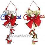 SSMDYLYM Décorations de Noël Bell de Noël Suspending Pendentif Ornements Métal Jingle Bells Doll Color : E Size : 12 * 22cm
