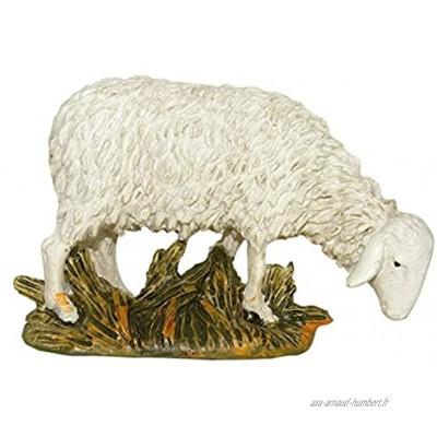Ferrari & Arrighetti Nativité Figurine Grazing Sheep Collection Martino Landi 12 cm