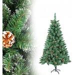 LZQ Sapin de Noël artificiel en pin PVC
