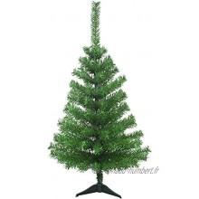 Wagtail Sapin de Noël Mini 60 cm – Couleur verte – Montage facile