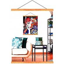 Cadre Photo Magnétique en Bois Porte-Affiches 42 cm Cadre Poster A2 A3 pour Accrocher des Affiches Photos Peintures d'art Cadre Élégant Bricolage Décoration Murale de la Maison