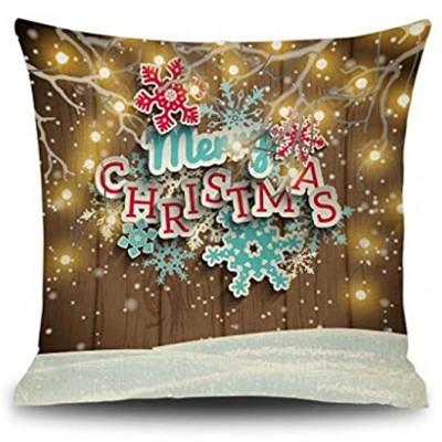 FENDOU Décorations de Noël,Coussins Oreiller,Creative Oreillers Cadeau de Noël Oreiller Décoration Color : C