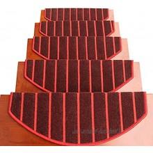 QDCZDQ Paquet de 15 Tapis de Tapis de Marche d'escalier Tapis de Protection antidérapant pour Tapis d'escalier pour Tapis d'escalier de Sol Dur