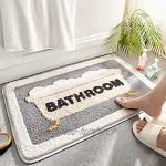 deendeng Tapis de porte Tapis de salle de bain Tapis de sol antidérapant Pour une utilisation en extérieur et en intérieur Décoration d'intérieur