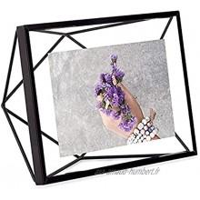 UMBRA Prisma Cadre photo filaire en métal entre deux-verres Prisma poser ou à accrocher Pour 1 photo 10x15cm Noir