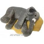 Coussin de dossier en peluche éléphant