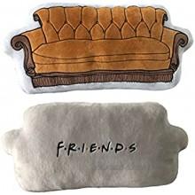 Coussin Friends Divan – Coussin Confortable et agréable à serrer – Motif : Divan Friends – Cadeau pour Fan et Passionné – Qualité Supérieure – Dimensions 60 cm x 40 cm