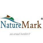 NatureMark Lot de 4 Coussins de Chaise Garnis à nouettes Jaune 40 x 40 cm