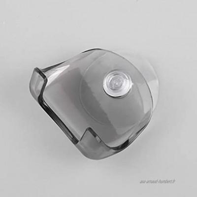 Zhou-YuXiang Support de Rasoir en Plastique Super Ventouse en Plastique écologique Support de Rasoir de Salle de Bain Support de Rangement pour Rasoir à Ventouse Support de Rasoir de Rasage